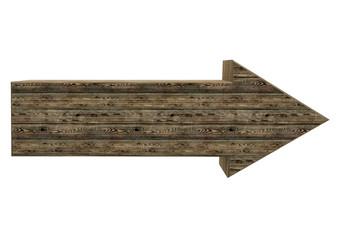 Holzpfeil