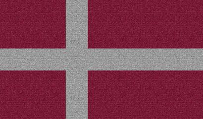 Denim flag of Denmark