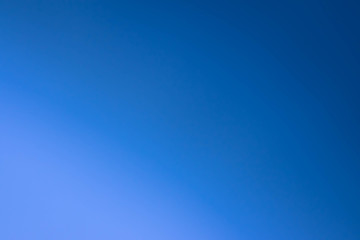 Blue scene color gradation