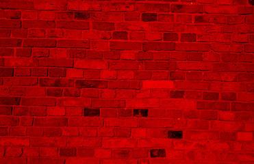Fototapeta cegła, mur, ceglany, czerwony obraz