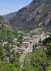 The historic town Of Silverton , Colorado