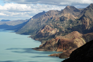 Landscape in the El Chalten Massif, Argentine Patagonia, Argentina, South America
