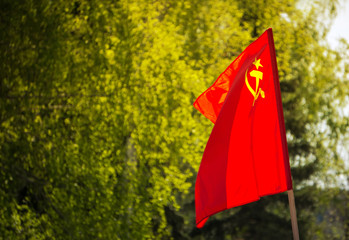 Union of Soviet Socialist Republics USSR HD flag