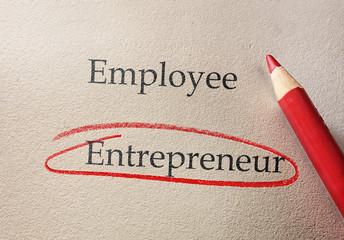 Entrepreneur business concept