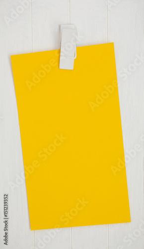 Gelber Zettel