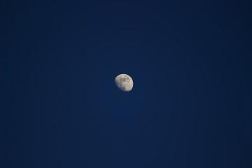 Moon at twilight