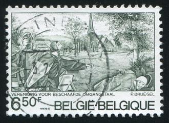 Blind Leading the Blind by Breughel the Elde