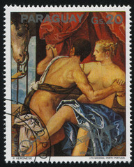 Painting Mars and Venys by Veronese