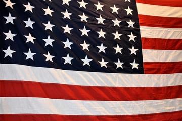 American Flag Up Close