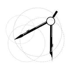 compass tool draw