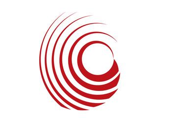 Red target circle