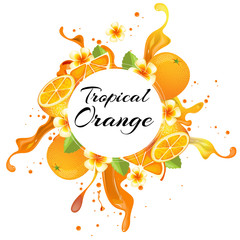 tropical orange punch
