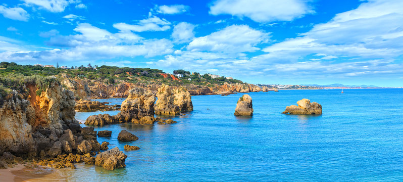 Atlantic coast view, Algarve.