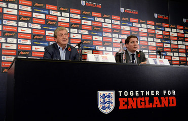 England - Roy Hodgson Press Conference