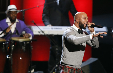 Common and Jean perform during the 44th Annual NAACP Image Awards at the Shrine Auditorium in Los Angeles