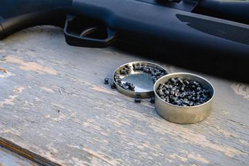 pellet and airgun