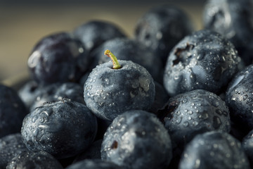 Raw Organic Healthy Blueberries
