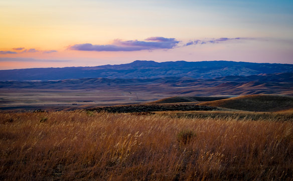 Summertime Twilight in Central California