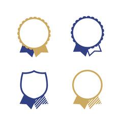 Blue Ribbon Badges Icon seal