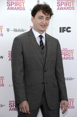 """Benh Zeitlin, nominated for best director film for """"Beasts of the Southern Wild,"""" arrives at the 2013 Film Independent Spirit Awards in Santa Monica"""