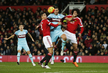 Manchester United v West Ham United - Barclays Premier League