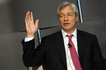 Dimon, chairman and chief executive of JP Morgan Chase and Co, speaks at the 2012 Simon Graduate School of Business' New York City Conference in New York