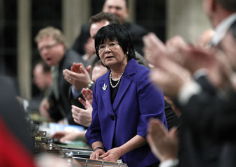 Canada's International Aid Minister Oda speaks in the House of Commons in Ottawa