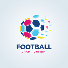Football logo, soccer logo collection.