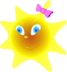 Smiley  Sun-girl