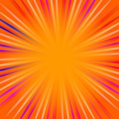Orange pop art