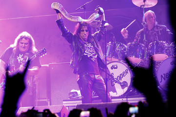 Alice Cooper performs at the 3rd annual Golden Gods awards in Los Angeles