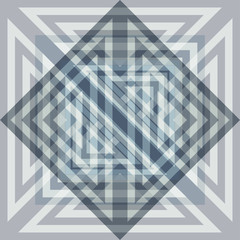 abstract bright mix triangle grey color illusion design background