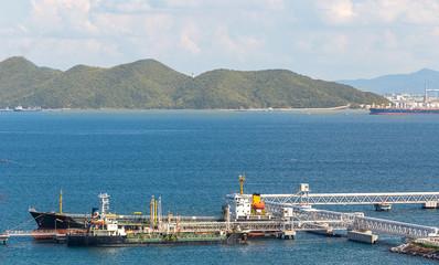 logistics and transportation ship