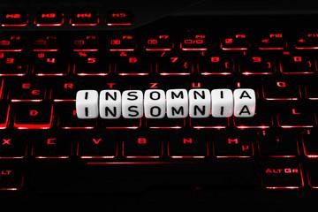 Insomnia Symbol on keyboard