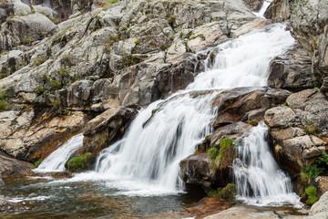 Cascadas, Cañón del Río Tera. Parque Natural del Lago de Sanabria y alrededores, Zamora.