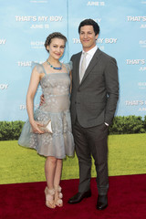 "Cast member Samberg and his girlfriend singer Newsom arrive for the premiere of ""That's My Boy"" in Los Angeles"