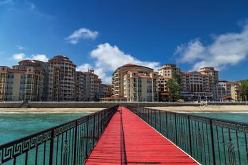 Sea resort Elenite on the Bulgarian Black Sea coast