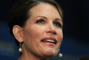 U.S. Rep Michele Bachmann (R-MN) speaks at the Commonwealth Club in San Francisco