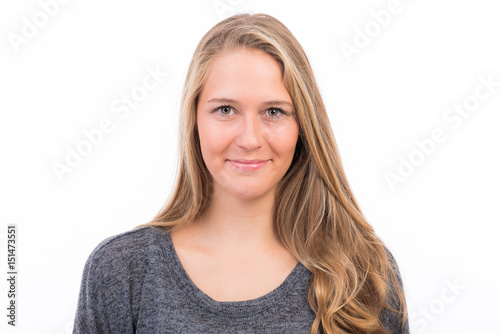 Bewerbungsfoto Einer Jungen Frau Stockfotos Und Lizenzfreie Bilder