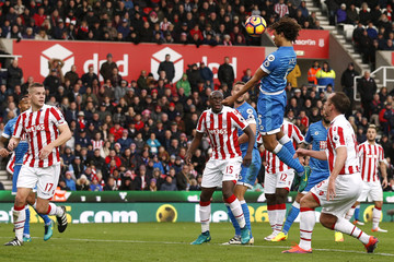 Bournemouth's Nathan Ake scores their first goal