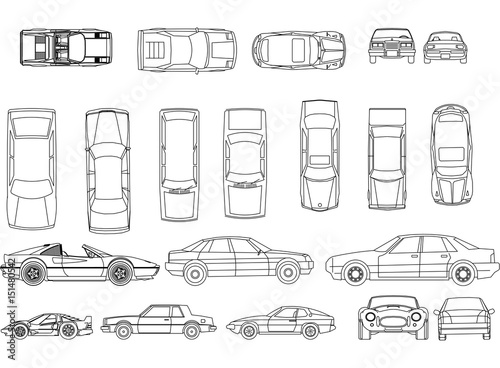 Cars blueprint\
