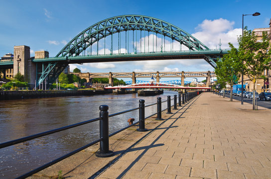 Tyne Bridges at Newcastle