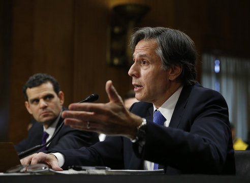 Blinken and Cohen testify before Senate Foreign Relations Committee hearing in Washington