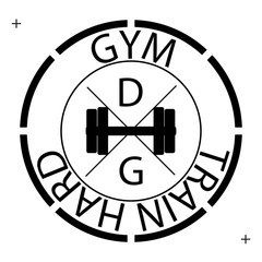 circle logo gym