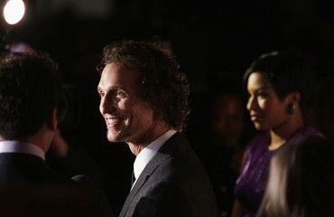Actor Matthew McConaughey arrives for the New York Film Critics Circle awards in New York