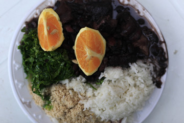 "The Brazilian traditional dish called ""Feijoada"" is seen at the community of Quilombo Sao Jose, descendants of African slaves, during Afro-Brazilian culture celebrations in Valenca"