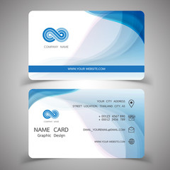 business card design set.Vector illustrations.