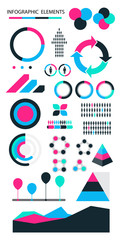 infographic elements vector.