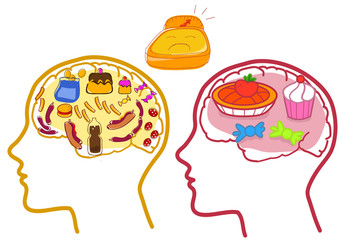 Food disorders icons