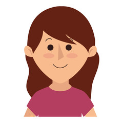 beautifull mother avatar character vector illustration design